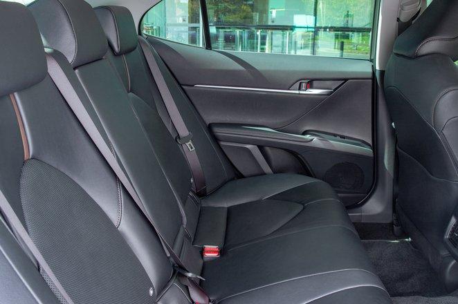 2019 Toyota Camry rear seats
