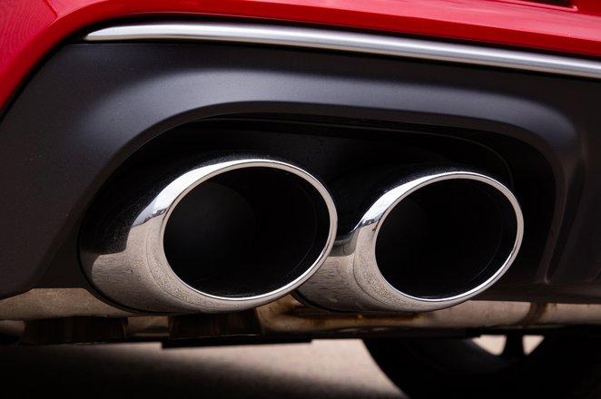 Audi S6 Avant exhausts