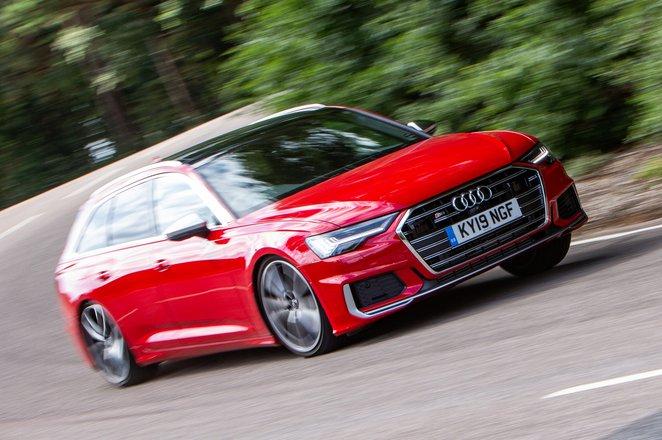 Audi S6 Avant front