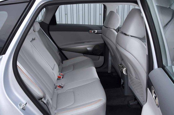 Hyundai Nexo 2019 RHD rear seats
