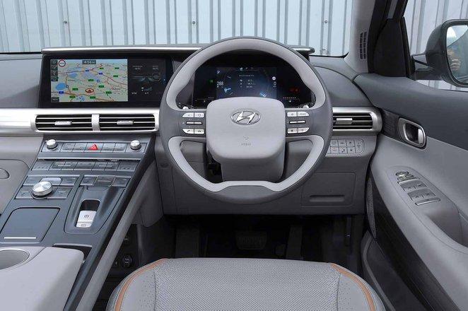 Hyundai Nexo 2019 RHD dashboard
