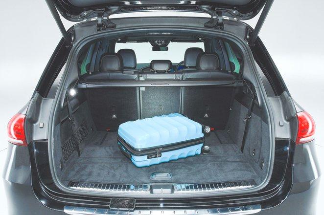 Mercedes-Benz GLE boot