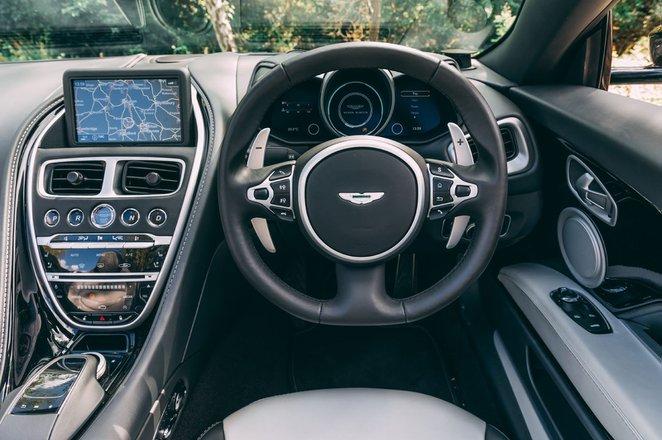 Aston Martin DBS Volante 2019 RHD dashboard