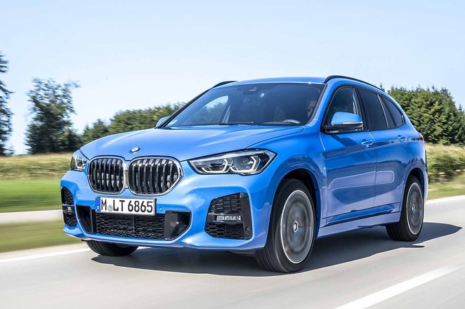 BMW X1 2019 LHD front tracking
