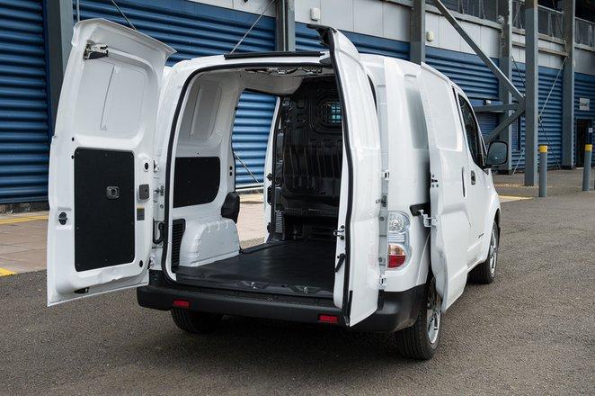 Nissan e-NV200 load bay