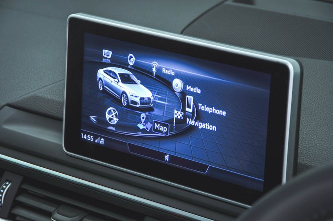 Audi A5 infotainment