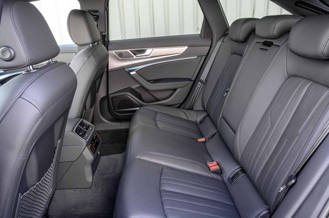 Audi Allroad 2019 RHD rear seats