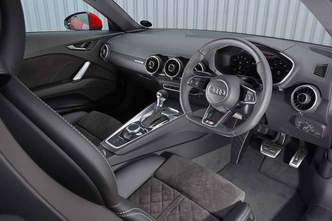 Audi TT Coupe 2019 RHD dashboard
