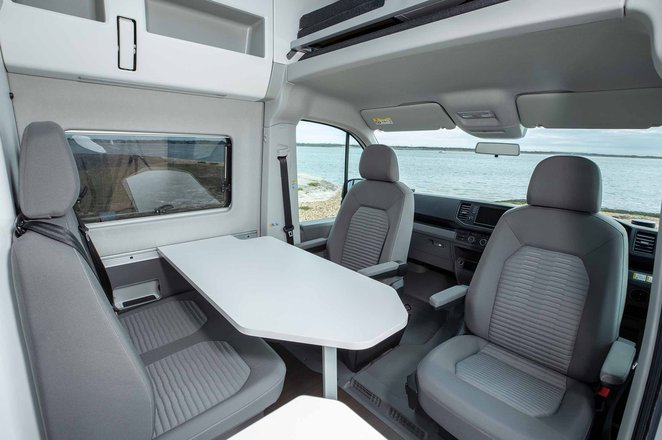 Volkswagen Grand California 2019 RHD living space