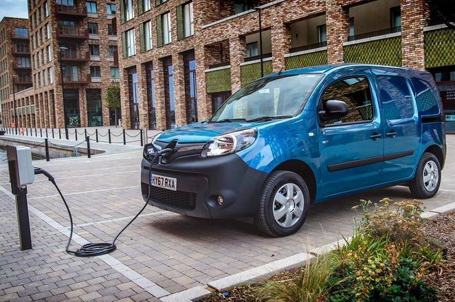 Renault Kangoo ZE charging