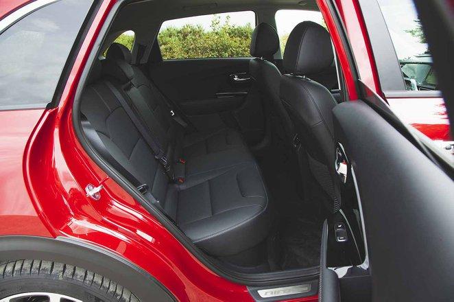 Kia Niro 2019 RHD rear seats