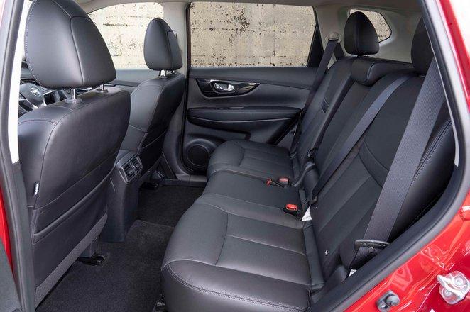 Nissan X-Trail 2019 RHD rear seats