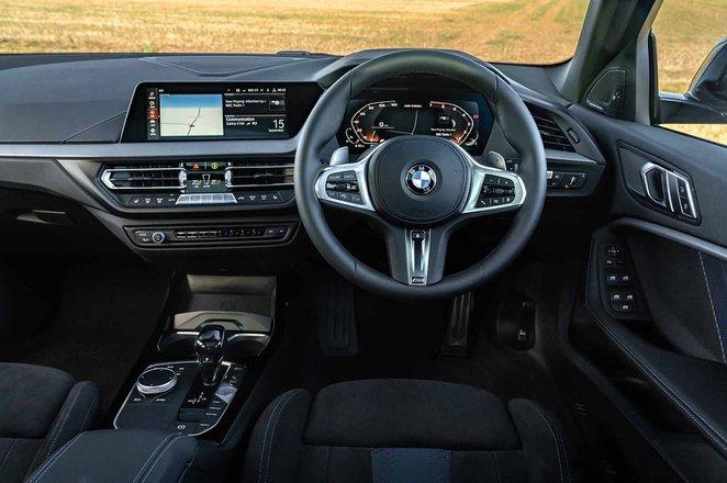 BMW M135i xDrive 2019 RHD dashboard