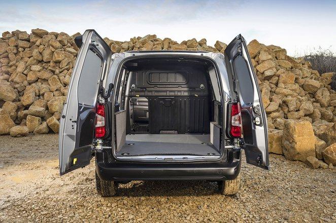 Peugeot Partner load space