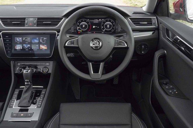 Skoda Superb 2021 interior dashboard