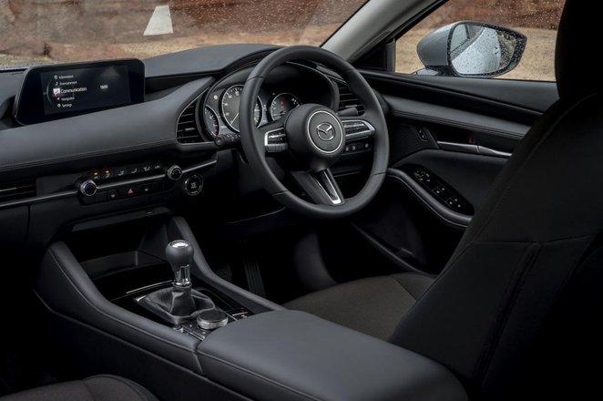 Mazda 3 Saloon interior
