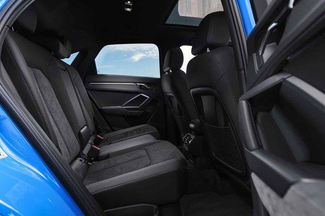 Audi Q3 Sportback 2021 RHD rear seats