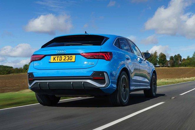 Audi Q3 Sportback 2021 rear tracking