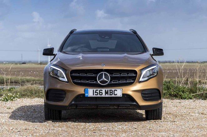 Mercedes-Benz GLA front static