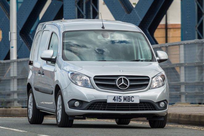 Mercedes Citan van nose