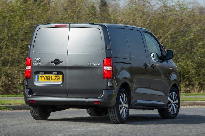 Toyota Proace rear