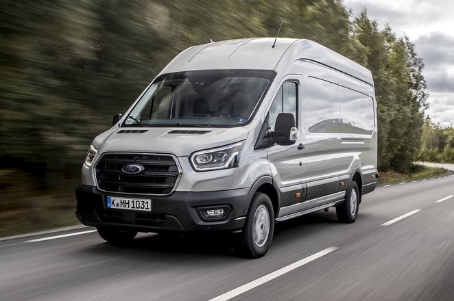Ford Transit front