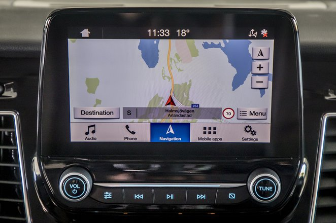 Ford Transit infotainment system