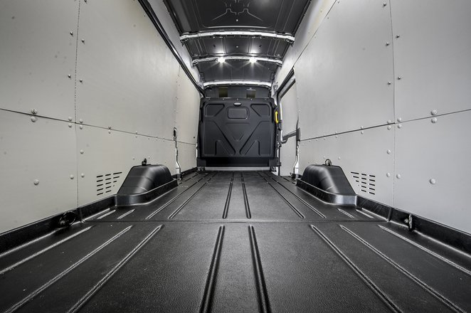 Ford Transit load bay