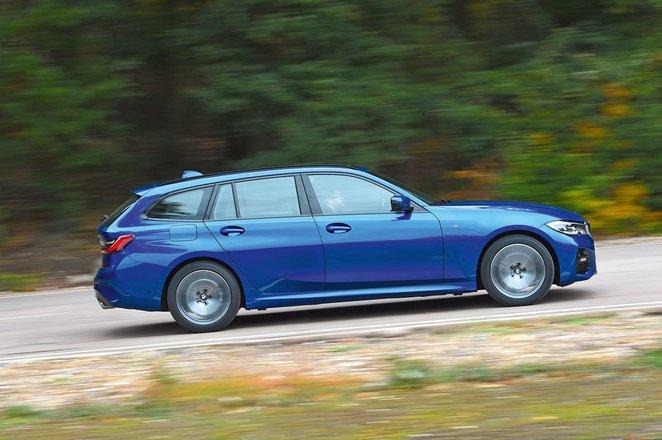 BMW 3 Series Touring driving