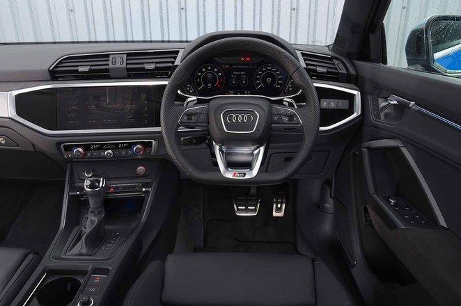 Audi RS Q3 2019 RHD dashboard
