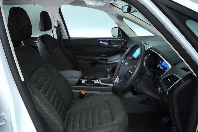 Ford Galaxy 2021 RHD front seats