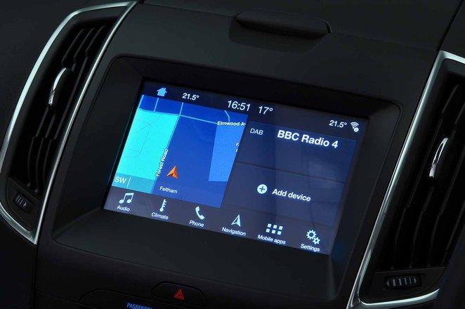 Ford Galaxy 2021 RHD infotainment