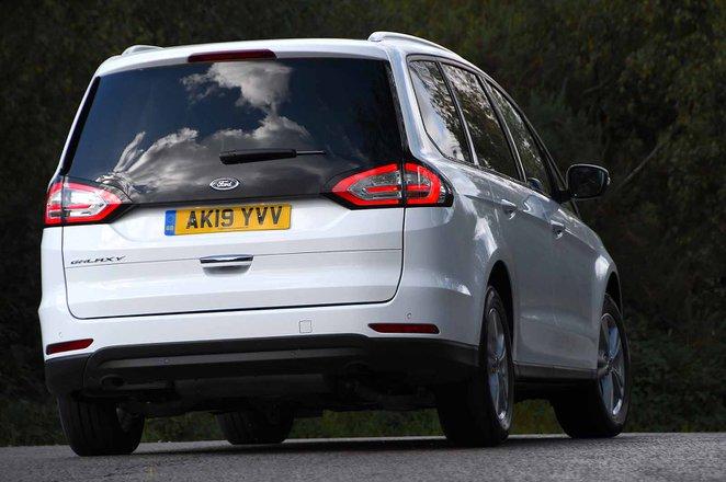 Ford Galaxy 2021 rear cornering