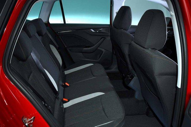 Skoda Kamiq 2021 RHD rear seats