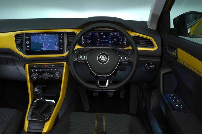 Volkswagen T-Roc 2021 RHD dashboard
