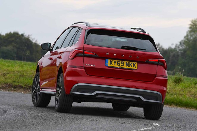 Skoda Kamiq 2021 RHD rear tracking