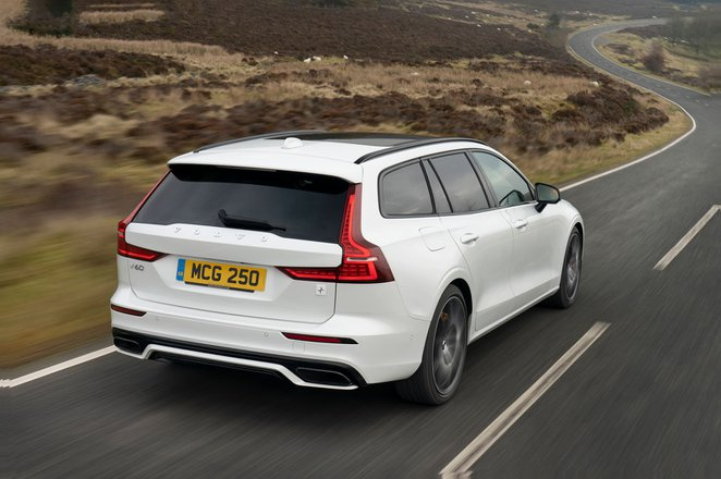 Volvo S60 R design Polestar Engineered 2019 RHD rear tracking