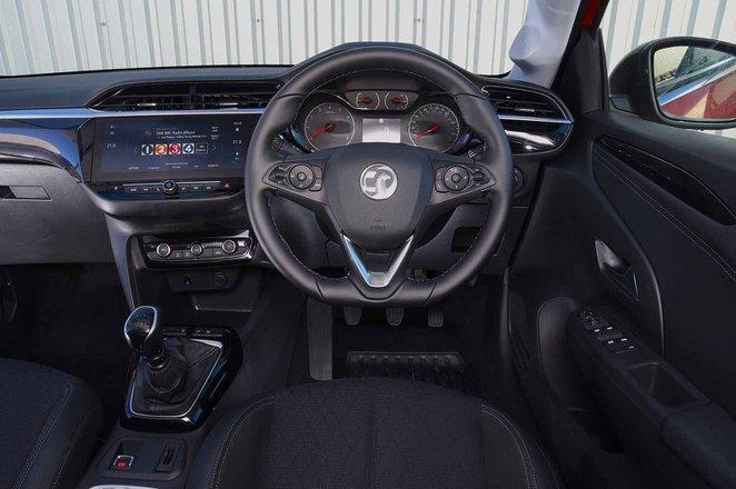 Vauxhall Corsa 2019 dashboard RHD