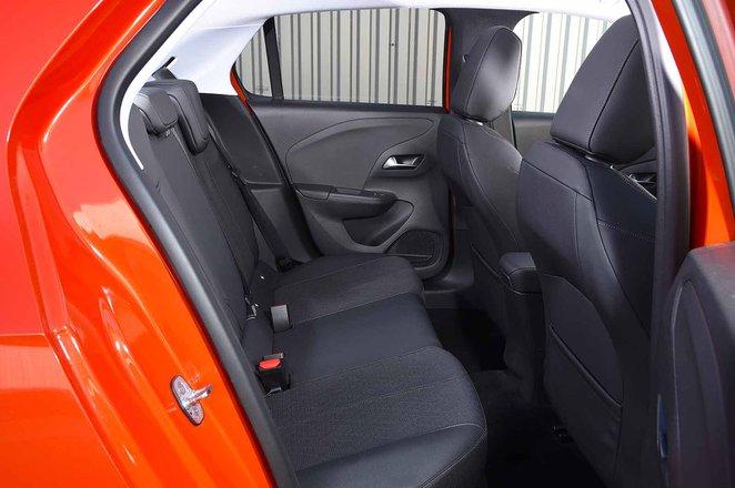 Vauxhall Corsa 2019 rear seats RHD