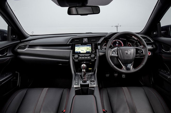Honda Civic Hatchback 2019 dashboard RHD