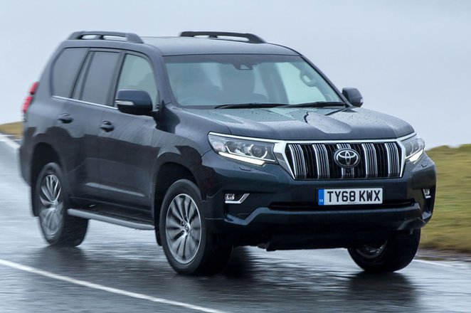 Toyota Land Cruiser 2019 front tracking