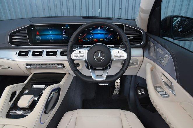 2021 Mercedes GLS dashboard