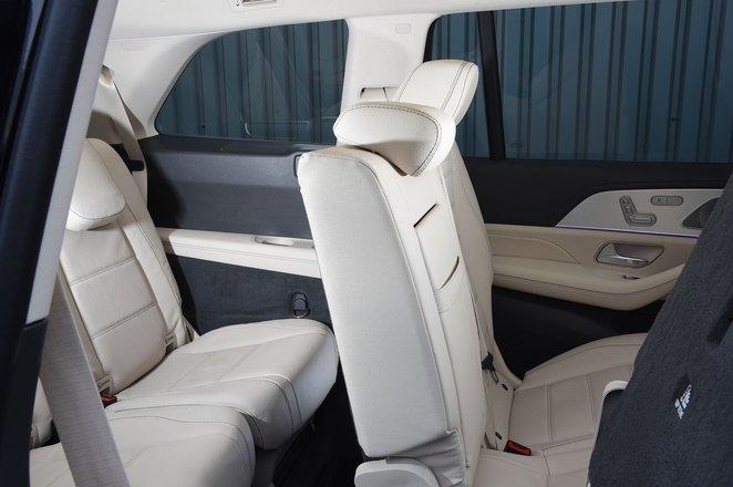 2021 Mercedes GLS third row seats