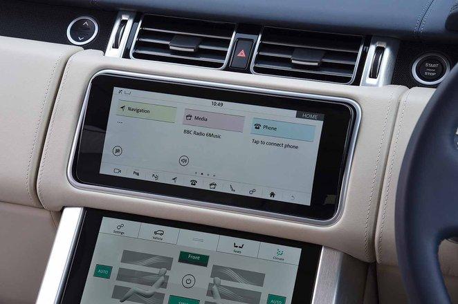 Land Rover Range Rover 2018 infotainment RHD