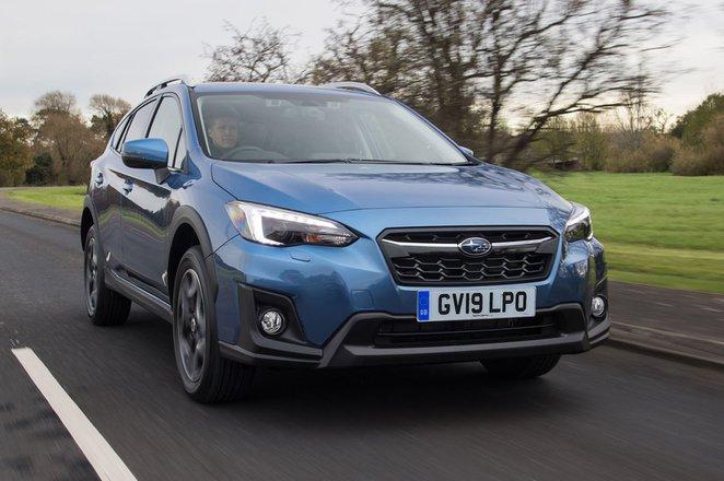 Subaru XV 2019 front tracking