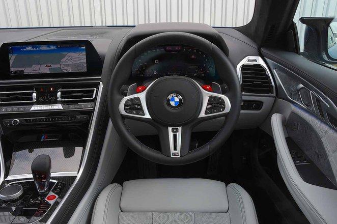BMW M8 Competition 2020 RHD dashboard