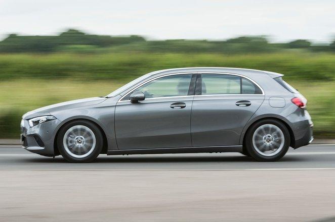 Mercedes A-Class side
