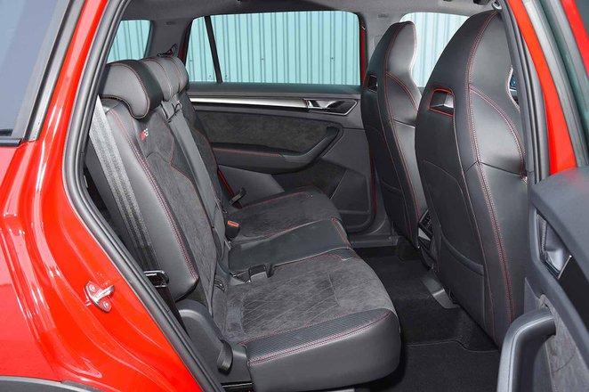Skoda Kodiaq 2020 RHD rear seats