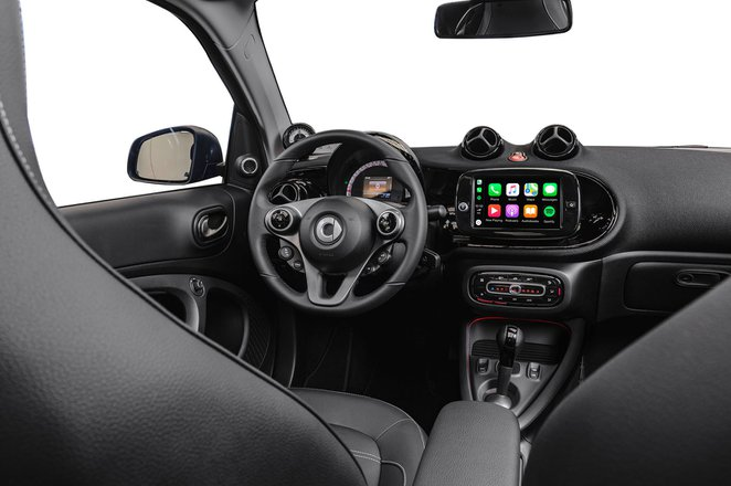 Smart ForFour EQ 2020 LHD press dashboard