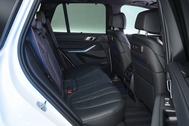 BMW X5 2021 RHD rear seats